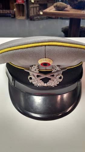 Click image for larger version.  Name:West German Officer Hat.jpg Views:88 Size:225.5 KB ID:882928