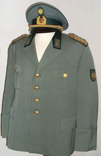 BGS General Tunic & Visor