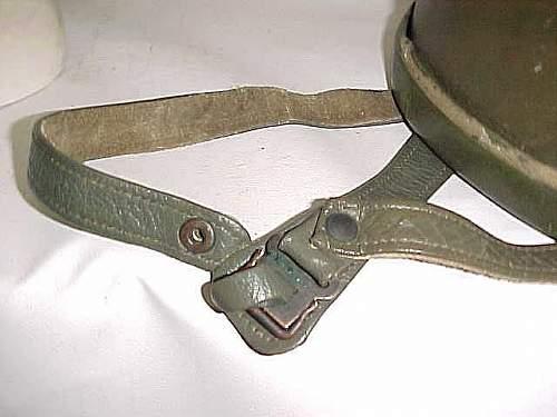 Click image for larger version.  Name:GE BRD Stahlhelm der Luftlandetruppe Versüchsmodell LS body  harness ends.jpg Views:49 Size:30.4 KB ID:957324