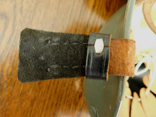 Click image for larger version.  Name:German M35. 50 chinstrap buckle back.jpg Views:36 Size:217.2 KB ID:973566