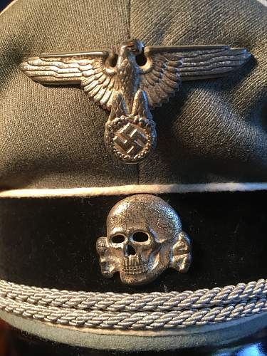 At auction as an SS Signal Hat