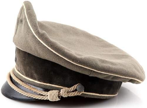 frankenstein SS visor cap 'deutsche wertarbeit'