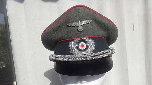 Click image for larger version.  Name:Artillerie Schirmmütze (1).jpg Views:203 Size:224.0 KB ID:1021773