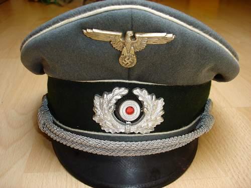 Heer Officers schirmutze: Original or Fake?