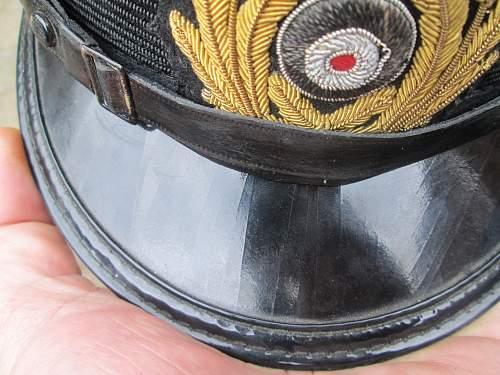 german navy visor cap