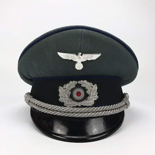 Suspicious Wehrmacht visors