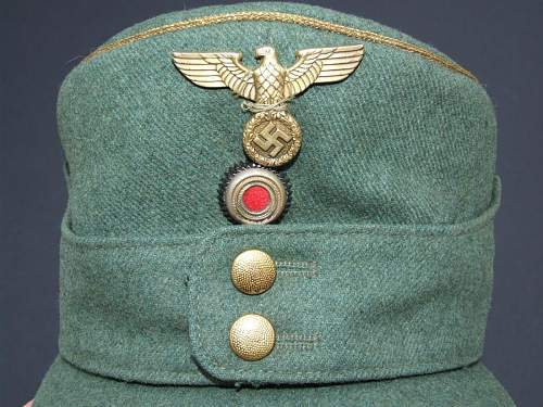 Unknown General's M-43 Cap for Review & Comment
