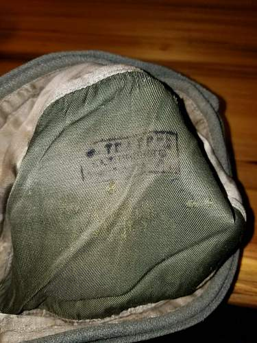 German Wool Cap Real? Panzer or SS?