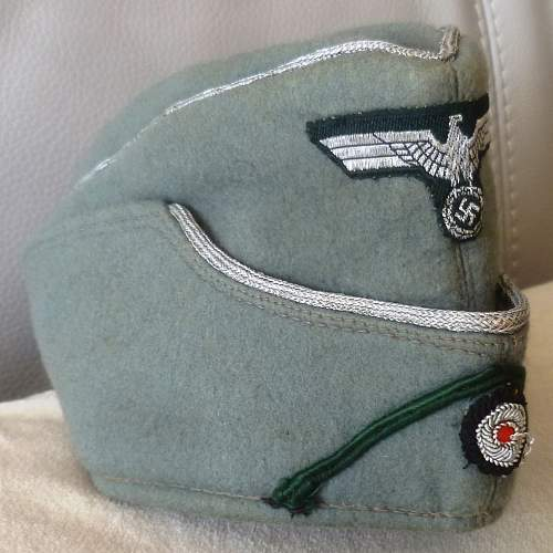 Your Opinions on an Army Field Service Cap PLEASE