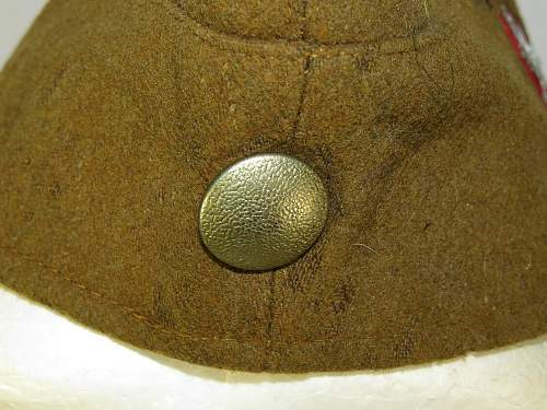 German Nazi Period Cap - I think it is genuine but what is it?
