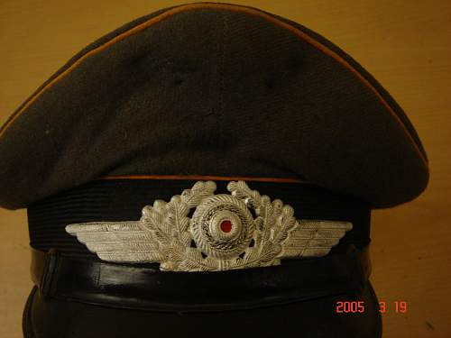 odd luftwaffe visor for review