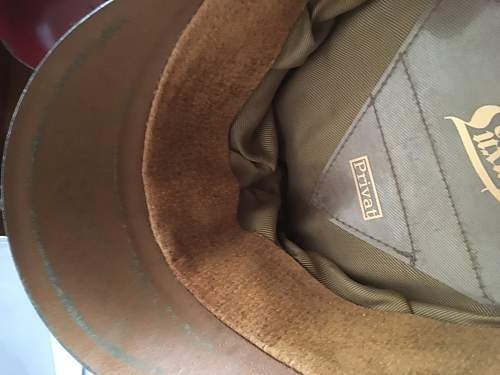 Would like some advice on this SS artillery officer visor cap