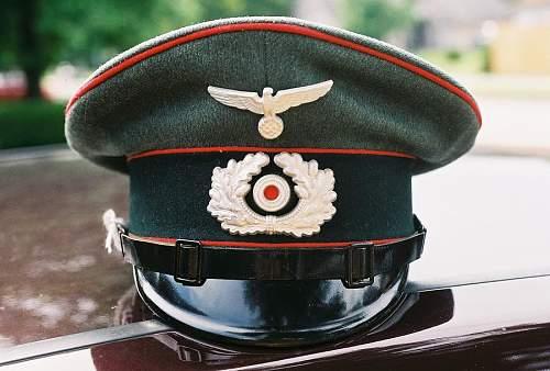 Heer Artillery NCO's schirmutze: opinions please