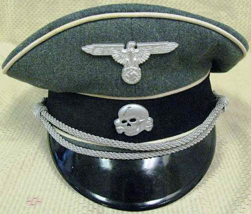 Click image for larger version.  Name:WAFFEN SS VISOR CAP (1).jpg Views:171 Size:58.0 KB ID:117336