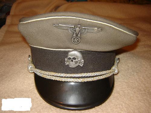 Waffen SS Officers schirmutze: Any opinions?