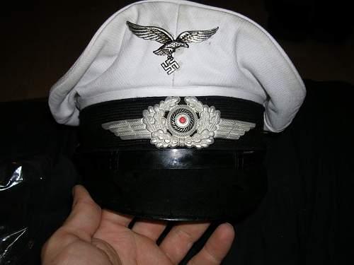 Opinion on this Luftwaffe white top schirmutze