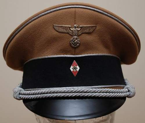 Hitlerjugend Visor Caps--thought or comments?