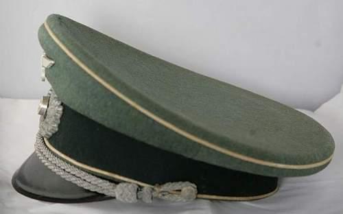 Heer Infantry Officers Visor Opinions