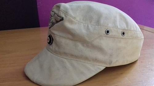 Help for LW tropical cap model 1943 italian manufacture
