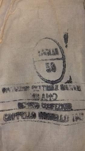 Help for LW tropical cap model 1943 italian manufacture