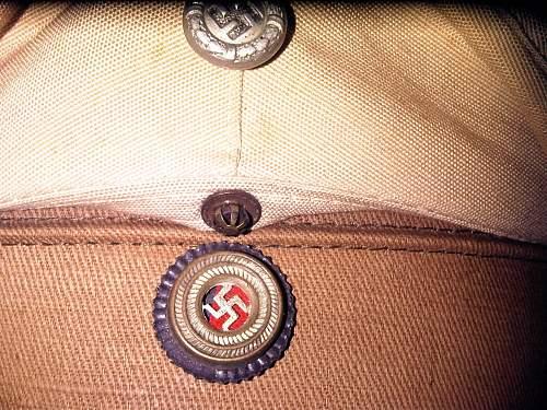 Unusual political cap