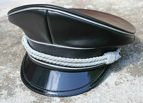 SS Officer Black Top & White Top Matched Set