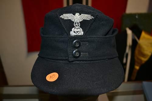 Waffen ss 1943 M43 Field Cap Einheitsfeld
