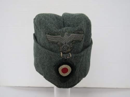 Original German side cap?