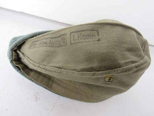 Original German side cap?