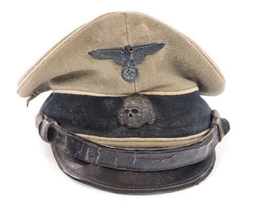 Waffen SS Visor help