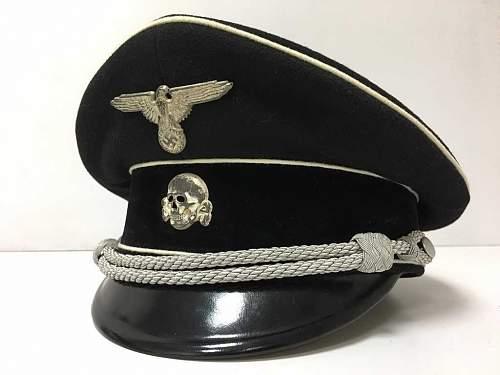 SS Allgemeine Officier VisorCap