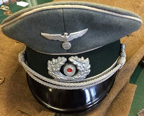 officers visor