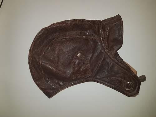 Help needed identifying flying helmet