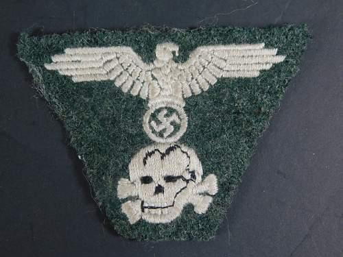SS M43 Dachau type
