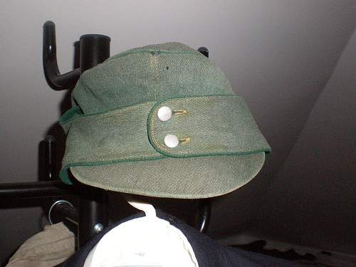 German field cap?
