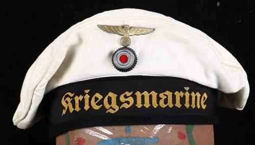 Kriegsmarine Tellermütze