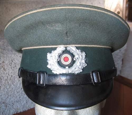 Heer Infantry EM/NCO Visor - Opinions?