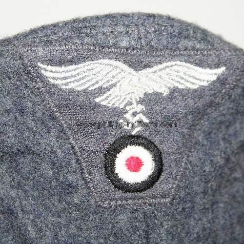 M43 Luftwaffe Einheitsfeldmutze