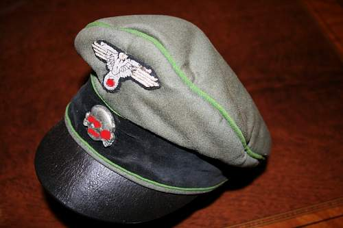 Waffen SS visor authentic or not?