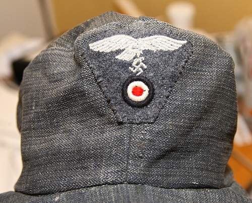 Identification of luftwaffe cap, real or fake?