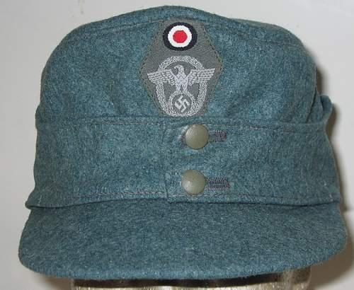 Original m-43 polizei??? Help please