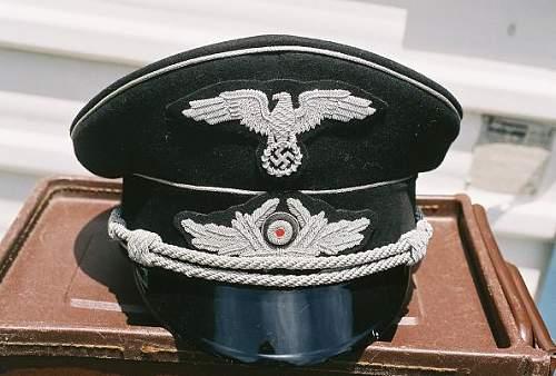 German diplomat visor