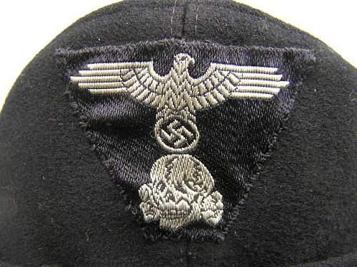 SS Panzer  Einheitsfeldmutze