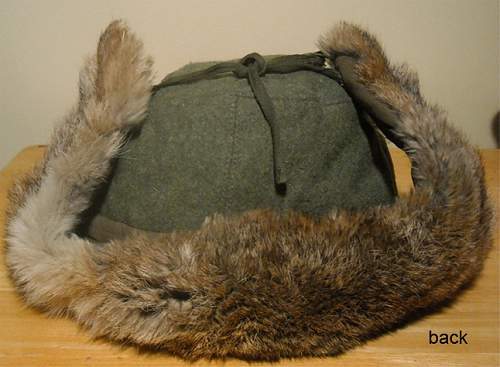Opinions needed for German Army Winter Fur Cap!!!!