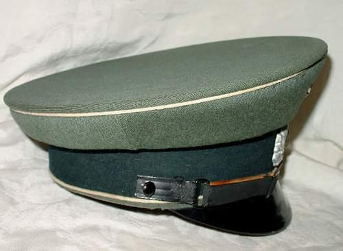 German Army Visor cap