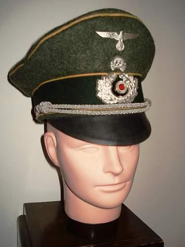 Heer 5th Kavallerie Regiment Officer Visor Cap?