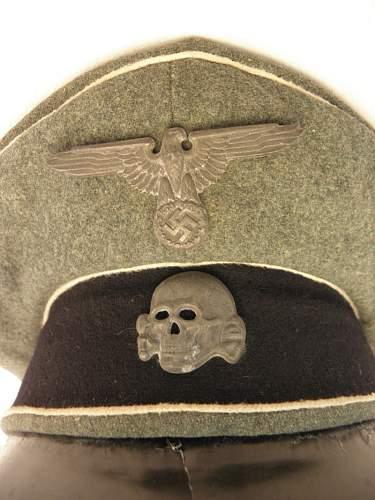Help with ss visor cap.