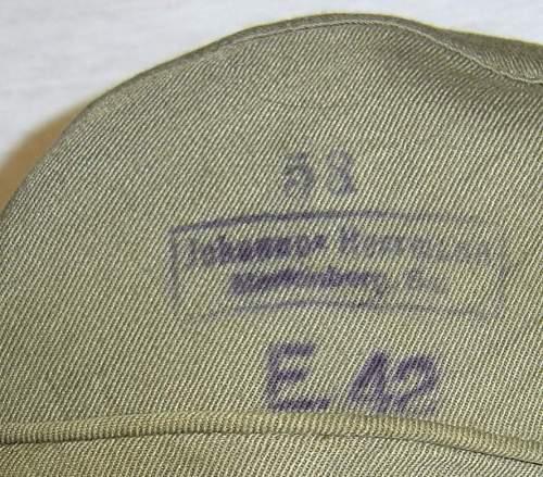 Einheitsfeldmutze M43.  please, original???? thanks  :))
