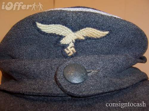 Click image for larger version.  Name:wwii-luftwaffe-officers-m-43-cap-rare-original-german-2bafa.JPG Views:115 Size:67.6 KB ID:191803