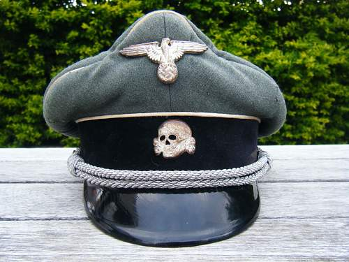 SS Officers Cap that has been doing the rounds..... Ben Please HELP!